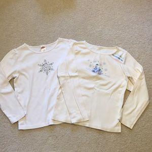 Gymboree long sleeve shirt bundle size 7